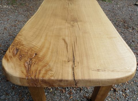 Oak Slab Table