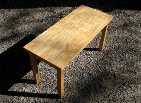 Spalted Beech Occasional Table